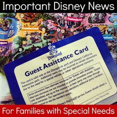 Important: Changes to the #Disney Disability Pass at Disney Parks