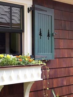 Bring color and charm to your home with window boxes.