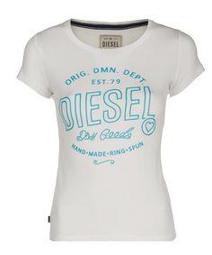 Jodi Tee (Ivory) Summer Collection, Diesel, Ivory, Spring, Tees, Women, Fashion, Diesel Fuel, Moda