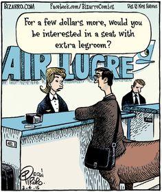 Extra legroom?