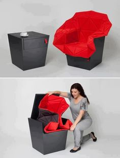 Multifunctional furniture - table / chair