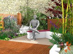 shame hes not real Edinburgh Scotland, Garden Seating, Garden Design, New Homes, Patio, Outdoor Decor, Home Decor, Garden Seats, Decoration Home