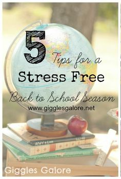 5 Tips for a Stress Free Back to School Season