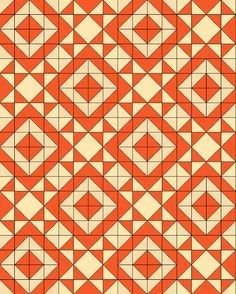 Here is another free quilt pattern that uses either charm packs or a layer cake . - Here is another free quilt pattern that uses either charm packs or a layer cake with background fab - Charm Pack Quilt Patterns, Charm Pack Quilts, Jelly Roll Quilt Patterns, Charm Quilt, Quilt Block Patterns, Quilt Blocks, Triangle Quilt Pattern, Half Square Triangle Quilts, Square Quilt