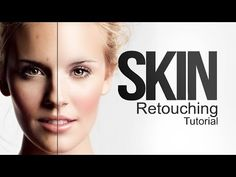 ▶ Skin Retouching Tutorial / Frequency Separation / click3d - YouTube