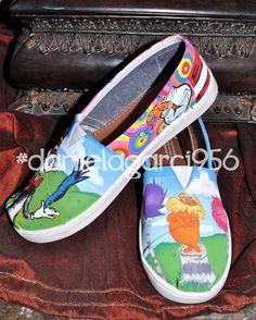 1bdf40c882c77 42 Best Hand Painted Canvas Shoes images
