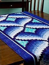 Resultado de imagem para light in the valley quilt pattern