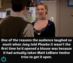 "this is my bra"" 😂 chandler phoebe awkward laughs Season episode 14 The one where everybody finds out theyknowweknow Friends Cast, Friends Episodes, Friends Moments, Friends Series, Friends Tv Show, Friends Forever, Friends Tv Quotes, Best Tv Shows, Best Shows Ever"
