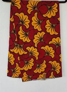 Afrikaanse Print / Ankara stof / Wax Print / Afrikaanse doek / lichte stof / helder materiaal