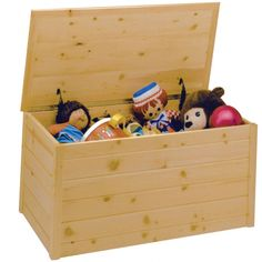 Toy Box Plans on Pinterest | Wooden Toy Boxes, Woodworking Toys and ...