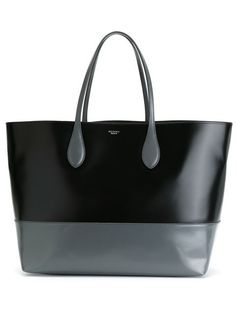 Compre Rochas Bolsa tote de couro bicolor em Boutique Antonia from the world's best independent boutiques at farfetch.com. Shop 300 boutiques at one address.