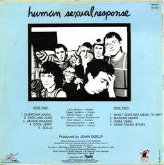 SIETE EN FILA [New Wave & Synth Pop] Human Sexual Response - What Does Sex Mean To Me? 1980 euro80s.net Lunes y Jueves a las 8:00 de la noche