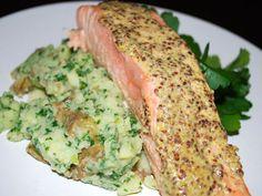 An Irish-Inspired Salmon and Potato Dinner :: Food Network