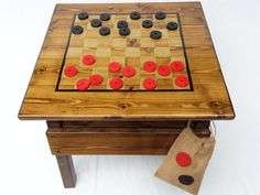 Childrens Furniture Kids Outdoor Checkers by HappyChairsandMore