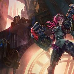 League of Legends Characters - Giant Bomb Giant Bomb, League Of Legends Characters, Master Chief, Steampunk, Urban