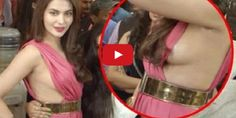 Ankita Shorey Wardrobe Malfunction at GYM Launch