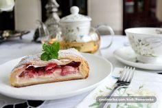 Cooking with Zoki: Pita sa krem sirom i jagodama Pancakes, Sandwiches, Ale, Cooking, Breakfast, Sweet, Food, Hampers, Kitchen