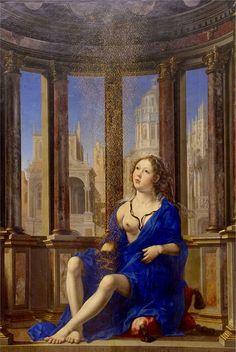 Jan Gossaert - Danae, (1527). 24danae_1527