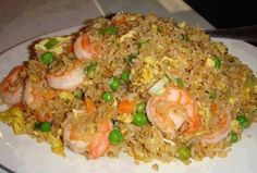 Serves: 5-6     Ingredients    4 cups rice, prepared (use brown rice)  ½ pound boneless, skinless chicken breasts, cooked or ...