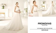Divine #Wedding Gowns From 2013 @Pronovias MANUEL MOTA COLLECTION