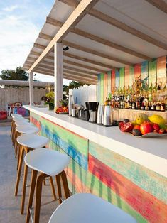 Part of Sa Punta Restaurant, Patchwork is a stylish rooftop restaurant & bar in Talamanca Bay, Ibiza. Patchwork Restaurant in Ibiza offers good Lebanese food.