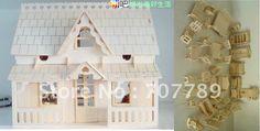 Cheap Una y veinticuatro modelo de puzzle en 3D , casa de muñecas en miniatura + 34pcs Muebles casa del juego del juguete del rompecabezas Envío libre miniatura, Compro Calidad Kits de Construcciones directamente de los surtidores de China:    Montado tamaño Altura: 31 Longitud: 30 Anchura: 19,5 cm  Matrícula : 340 * 210 * 12 * 3 mm  Peso: 1500 g
