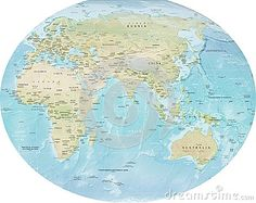 Arctic ocean on flat map arctic ocean map with north pole and arctic ocean on flat map arctic ocean map with north pole and arctic just maps pinterest gumiabroncs Gallery