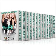 Three Union: 14 Book MEGA Bundle (Excite Spice Boxed Sets) - Kindle edition by Selena Kitt, Elliott Mabeuse, Emma Hillman, Giselle Renarde, Jack Osprey, Saskia Walker, Bekki Lynn, Darcy Sweet, Will Belegon, Dakota Trace, J.M. Snyder, Willsin Rowe, Alex Jordaine, habu. Literature & Fiction Kindle eBooks @ Amazon.com.