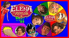 Elena of Avalor Game  PJ Masks Romeo Game DOLL Minifigures TOYS Blind Boxes & Spin the Wheel Game with Sparkle Spice.  Elena of Avalor is a 16 year old Latina Princess and ascendeant to the throne of the Avalor Kingdom. This is the newest Disney cartoon from the Disney Channel in 2016. The characters from the show are Princess Elena Princess Isabel Skylar Naomi Mateo and Gabe. We have toys from Finding Dory The Secret Life of Pets Teen Titans go and Paw Patrol Fashems and Mashems Disney…