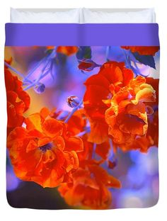 """Over the Top Queen (88"""" x 88"""") Duvet Cover by Anna Porter"""