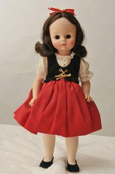 """Vintage Madame Alexander Sound of Music Doll Brigitte (13"""")"""