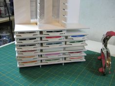 Add your shelves to the supports