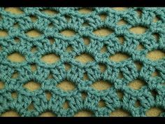 The Peephole Stitch Crochet Tutorial! Here are the timestamps, including the repeats, for your convenience - Row 1 - Row 2 - Row 3 - Row 4 - Row 5 - Repeat rows 2 - 5 Row 2 - Row 3 - Row 4 - Row 5 - One Stitch Crochet, Tunisian Crochet, Easy Crochet, Crochet Lace, Crochet Motif, Tutorial Crochet, Beginner Crochet, Crochet Stitches Patterns, Knitting Stitches