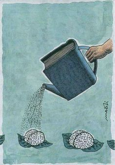 Reading helps the mind grow.