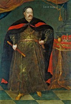 Portrait of John III Sobieski in Polish costume by Jan Tricius, 1680s…