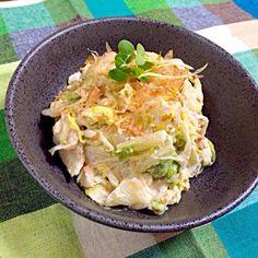みんながよくつくフォトしてる、おかなさんの白菜サラダを作ってみた! おー美味しい( ´ ▽ ` )みんなが何度もリピするはず〜(^^)おかなさん、美味しいレシピありがとうございます*\(^o^)/* - 134件のもぐもぐ - おかなさんの料理 お箸が止まらない♪白菜のサラダ♡ by kumisausa