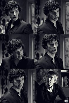 Sherlock says things and John doesn't quite get it. Such are their lives!