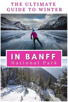 There's no shortage of outdoor adventure to be had in Canada's Banff National Park - even in winter! Check out the Ultimate Guide To Banff's Best Winter Activities. #Banff #BanffCanada #BanffNationalPark #BanffCanadaWinter #BanffCanadaWinterHikes #BanffThingsToDo #BanffAlberta #CanadaWinter #CanadaTravel #OutdoorAdventure Banff National Park, National Parks, Sunshine Village, Fairmont Chateau Lake Louise, Travel Guides, Travel Tips, Travel Destinations, Fairmont Banff, Canadian Travel