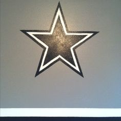 1000 images about painting ideas on pinterest dallas for Dallas cowboys bedroom paint ideas