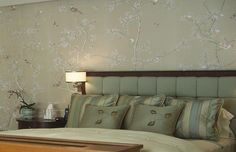 Fromental | Catalogue | Collection part-embroidered nonsuch in platinum