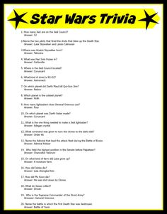 Free printable multiple choice super bowl trivia game download and do your kids love star wars ive got the how to on solutioingenieria Image collections