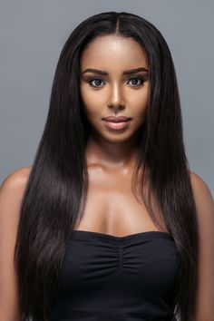 Y-SATIN Sets-The Y-SATIN Set features three bundles of our natural straight 100% luxury virgin human hair. This lightweight Set is perfect for a fuss-free elegant finish that looks gorgeous either kept straight or curled.