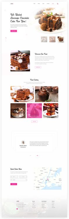 Cake Shop Landing Page designed by Somon Ahmed. Emoji Set, Pricing Table, Cleaning Business Cards, Psd Flyer Templates, Free Instagram, Free Photoshop, Landing Page Design, Instagram Story Template, Graphic Design Projects