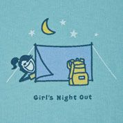 Girls Night Out!  I actually prefer my Hubby in the Tent with me!