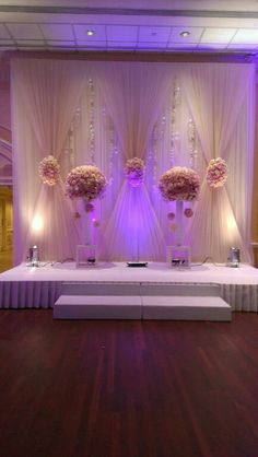 Wedding Stage Decorations, Backdrop Decorations, Backdrops, Wedding Mandap, Wedding Ceremony Backdrop, Sweetheart Table Backdrop, Pipe And Drape Backdrop, Cute Wedding Ideas, Marie