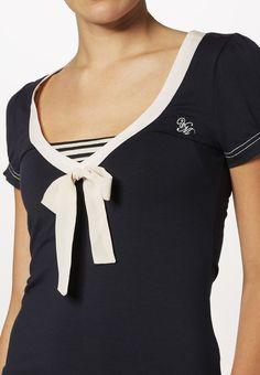 Vive Maria SWEET AHOI - T-Shirt basic - navy - Zalando.de