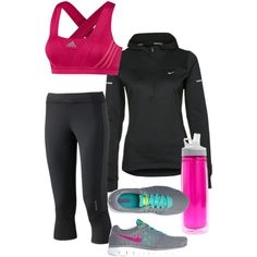 Workout clothes. Gotta get some...