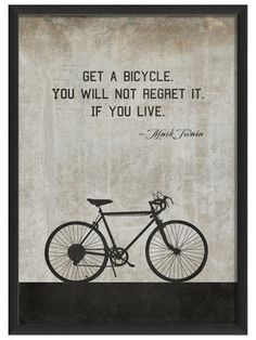 Bicycle by Twain (White) by Artwork Enclosed on Gilt Home