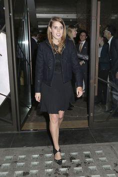 Princess ... Bea's black £40,000 Evoque was first