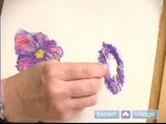 Getting Started With Pastel Art : How to Blend Oil Pastels
